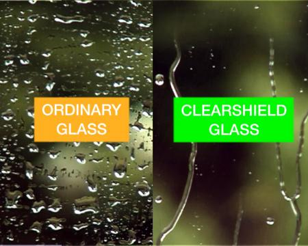 ClearShield glasbescherming