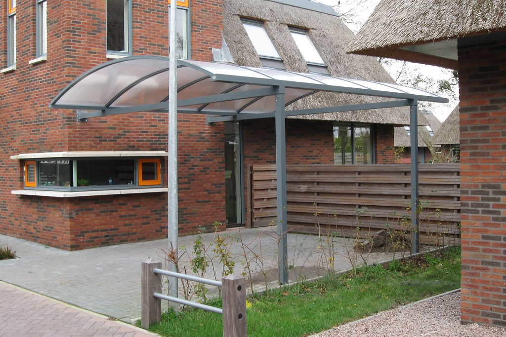 Complete aluminium carport boog glasdiscount for Carport one