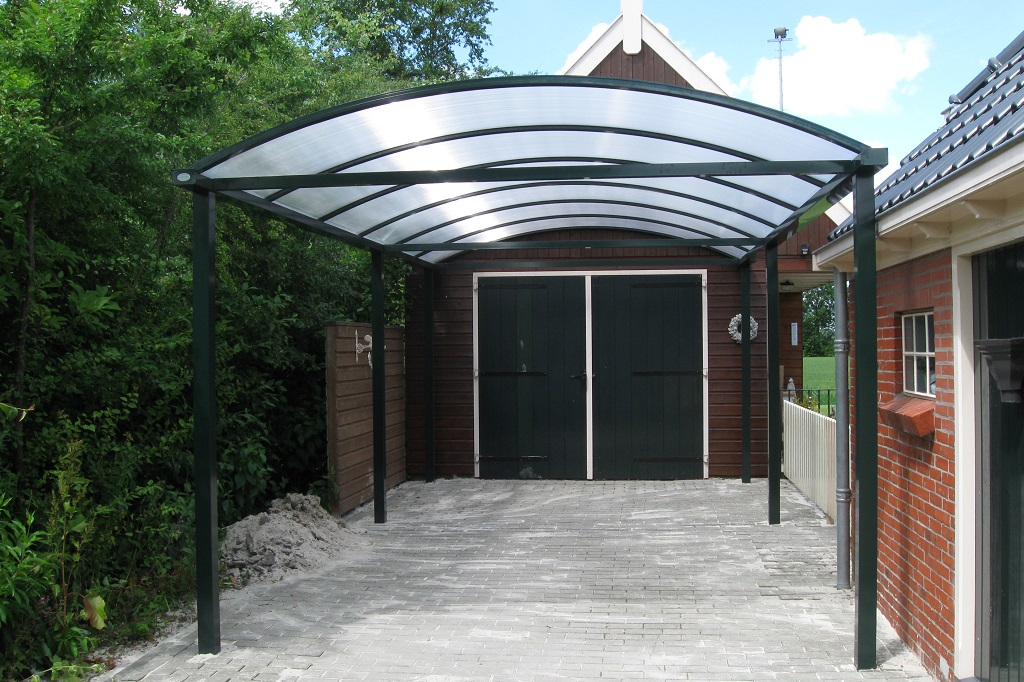 complete aluminium carport boog glasdiscount. Black Bedroom Furniture Sets. Home Design Ideas